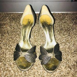 Giuseppe zanotti Metallic sandals size 37